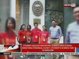 Student delegation ng PHL Science High School, binigyang parangal sa Int'l Student's Science Fair