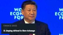 Davos : le président chinois défend le libre-échange face au protectionnisme de Trump
