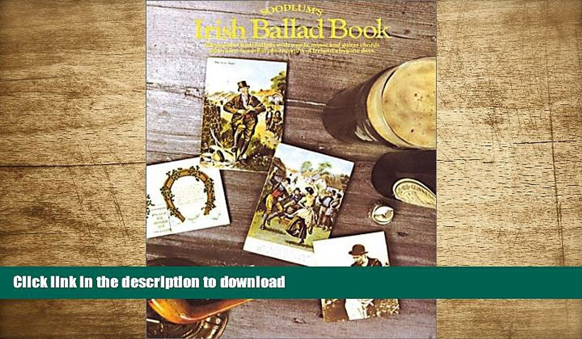 FREE [DOWNLOAD] Soodlum s Irish Ballads Book (Vocal Songbooks)  For Kindle