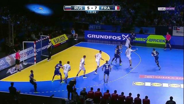 Russia vs France (24-35) Match Highligts ● Handball WM 2017 ● January 17, 2017