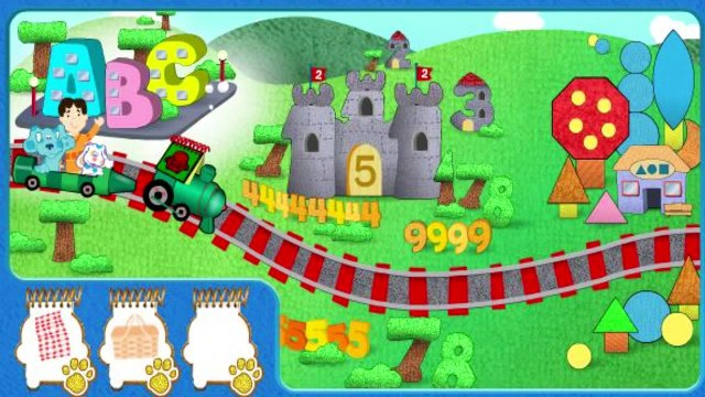 Blues Gold Clues Challenge - Blues Clues Games