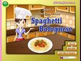 Готовим спагетти с Сарой! Игра для девочек! Видео для детей!