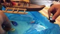 DinoTrux D-Structs VS Moana Toys Maui EPIC BATTLE - Maui & Ty Rux Mega bloks mega construx Toy Story