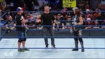 Shane McMahon, John Cena, AJ Styles vs The Miz - WWE Smackdown 17 January 2017