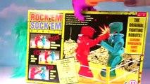 Wacky Rock Em Sock Em Wednesday! Blind Bag CHALLENGE Family Game Night Original Fighting Robots Cl