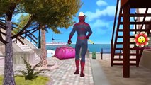 Spiderman And Shark Fight In Sea   Spiderman Saving Peoples Life   Attacking Shark Fight To Death