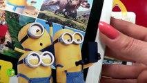 Minions Toys Mcdonalds new EUROPEAN Happy Meal Collection Talking Singing Minions Bob Kevin Stuart