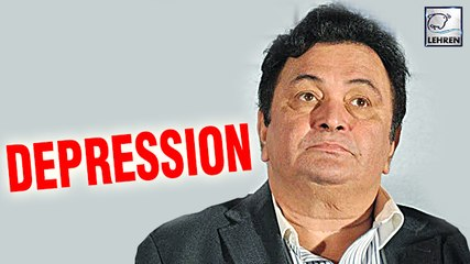 Rishi Kapoor Suffered From Depression