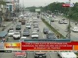 4 na u-turn slots sa Katipunan Ave., tinanggal ng MMDA bilang solusyon daw sa mabigat na trapiko