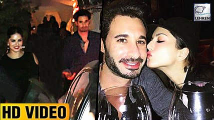 Sunny Leone's Dinner DATE With Husband