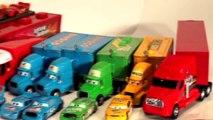 Disney Pixar Mack Truck and Pixar Cars Disney Cars with Lightning McQueen set to cool Music