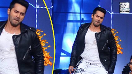 Varun Dhawan Escapes From Fire