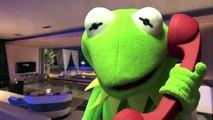 Kermit the Frog Taken Movie Parody, Miss Piggy Green Goblin Sesame Street Muppets Toy Fun for Kids!