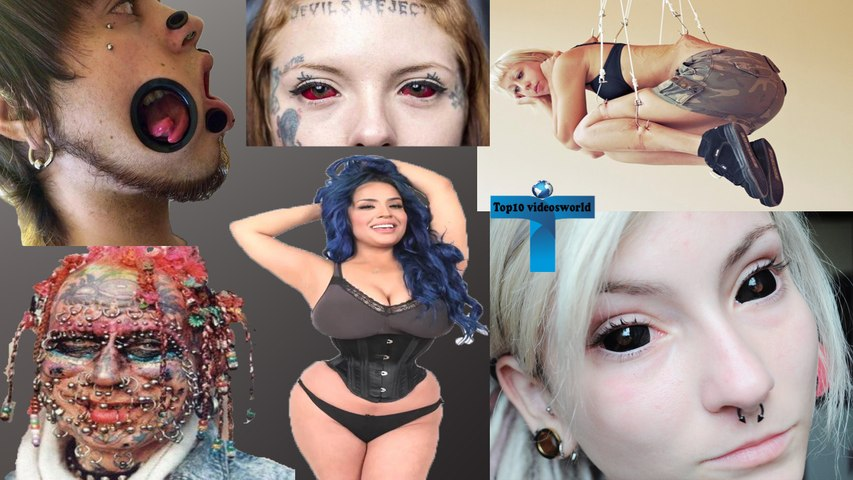 Most Extreme Body Modifications Ever - Most Shockingly Body Scarification Tattoos