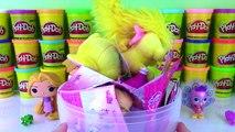 Giant Disney Princess RAPUNZEL Tangled Play-Doh Surprise Egg | Palace Pets | Fun