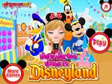 Baby Barbie Goes To Disneyland - Best Baby Games For Girls
