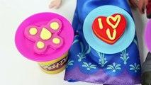 FROZEN Anna and Kristoff Valentines Day Play Doh Disney Frozen Princess Anna Doll San Valentín