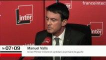 """Manuel Valls : """"Je suis celui qu'on vise car je suis celui qui peut gagner""""'"""