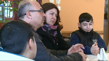 Syrian refugee family fights to be reunited