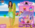 Game online, trò chơi cho bé, Barbie đi lướt sóng, trò chơi thời trang bãi biển