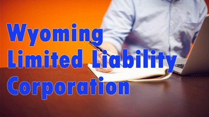 Wyoming Limited Liability Corporation