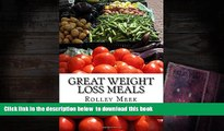 [PDF]  Great Weight Loss Meals: 1500 Calories Never Looked so Good Rolley Meek Pre Order