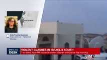 Violent clashes in Israel's south : 2 killed, Arab MP injured in violent clashes with police this morning