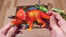 Dinosaur Box: Dinosaurs toys, Jurassic egg, Dino Train figures! Toy Collection Video for Children
