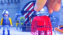 Golden Knight vs Dark Lord Playmobil Wars Epic Fight   Fluffy Toys