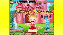Baby Hazel Games To Play ❖ Baby Hazel Princess Makeover ❖ Cartoons For Children in English