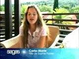 SOPHIE FAVIER CARLA FAVIER  EN VACANCE ST TROPEZ