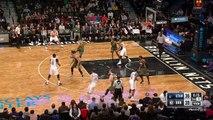 Rudy Gobert Denies Brook Lopez | Jazz vs Nets | January 2, 2017 | 2016 17 NBA Season