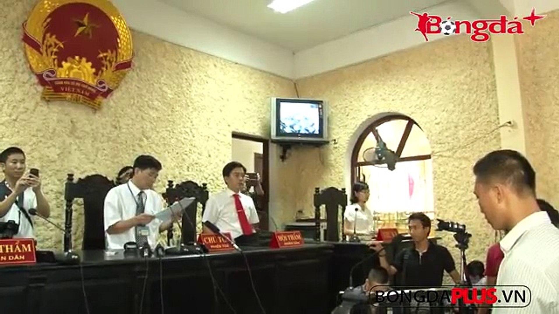 Bóng Đá Ninh Bình bán độ tuyên án 30 tháng tù