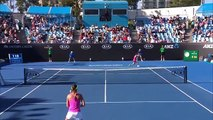 Suarez Navarro v Cirstea match highlights (2R) Australian Open 2017