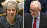 Jeremy Corbyn labels Theresa May 'the irony lady' at PMQs - video highlights