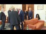 Berlino - Gentiloni incontra il Ministro  Esteri Frank Walter Steinmeier (18.01.17)