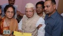 Veteran Congress leader N.D. Tiwari joins BJP