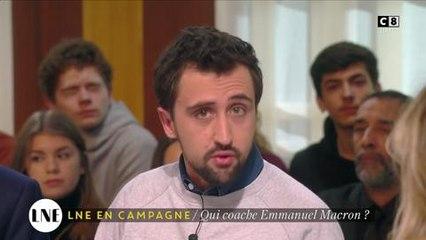 LNE : Emmanuel Macron coaché par un célèbre producteur