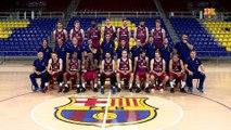 FCB Basket: Fotografia oficial del Barça Lassa amb el president Bartomeu