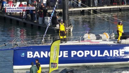 Revivez les grands moments du Vendée Globe d'Armel Le Cléac'h