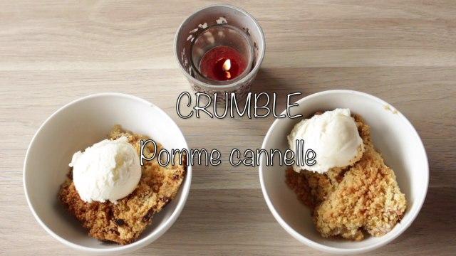 Recette Crumble Pomme Cannelle