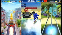 Talking Tom Gold Run Vs Sonic Dash Vs Sonic Dash 2: Sonic Boom!