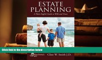 PDF [DOWNLOAD] Estate Planning: A Plain English Guide to Wills and Trusts FOR IPAD