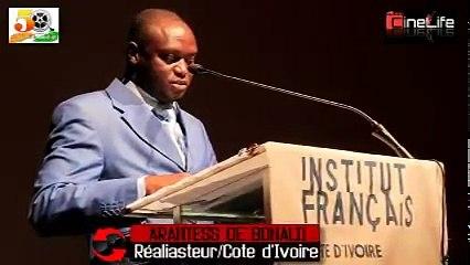 INTERVIEW DU REALISATEUR ARANTES DE BONALI AU CINQUANTENAIRE DE CINÉMA IVOIRIEN