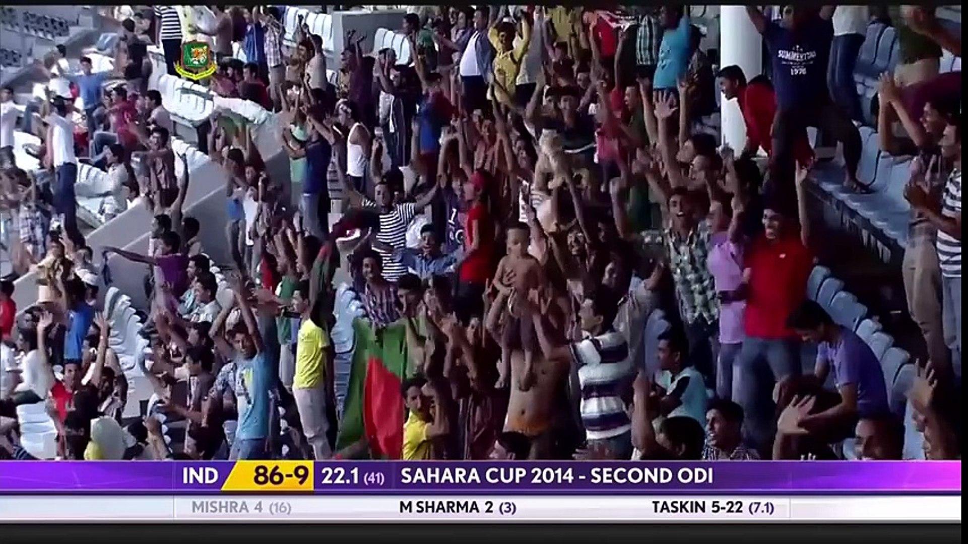 India Vs Bangladesh Full Highlights - India 105/10 & Bangladesh 58/10