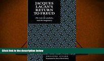 Download [PDF]  Jacques Lacan s Return to Freud: The Real, the Symbolic, and the Imaginary