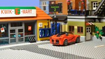 Lego Simpsons Shopping Movie. Homer Simpson in Kwik E Mart. Never eat Homer Simpson s Donuts.