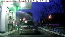 Fools on gas station ✦ Super car driver idiots ✦ Driver Idiots Compiltion