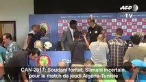 CAN-2017: Soudani forfait, Slimani incertain pour l'Algérie