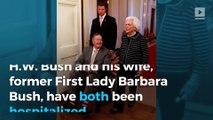 Former President George H.W. Bush and Barbara Bush both hospitalized